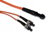 MTRJ-ST Duplex MM US Made Fiber Patch Cable