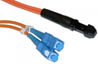 MTRJ-SC Duplex MM US Made Fiber Patch Cable